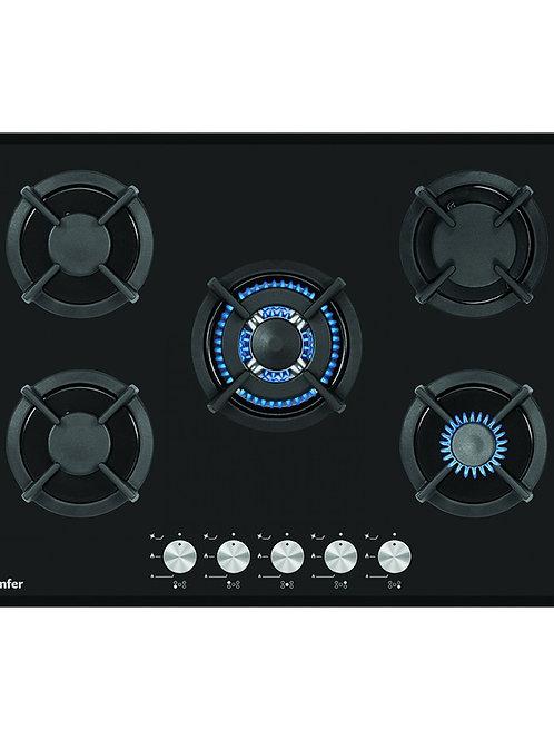 GAS HOB BLACK CARINO MODEL NUMBER SMF 7501NGSSP