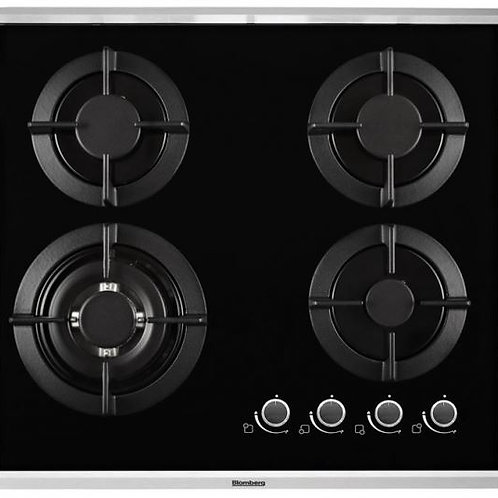 Blomberg Gas Hob 4 Gas Burners. Model number GCN63415X