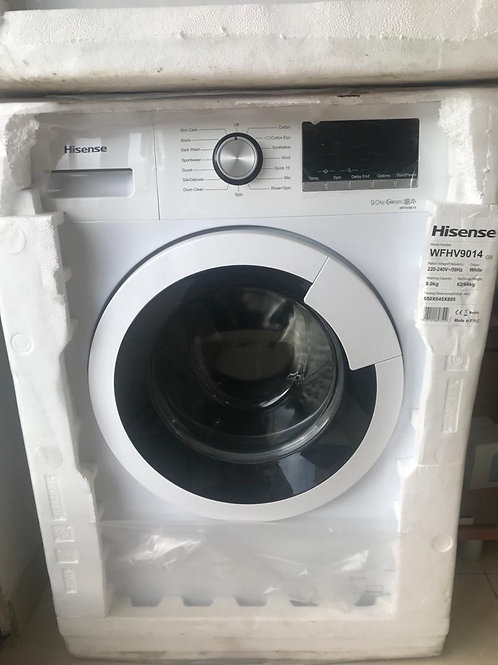 HISENSE 9 KGS WASHING MACHINE. A+++