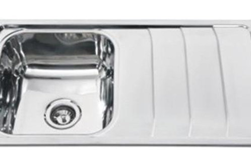 SINGLE BOWL SINK WITH DRAIN AREA . MODEL NH316
