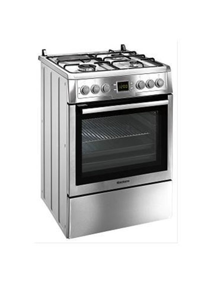 Blomberg Gas Hob With Electric Oven. Inox. Model number HZN9325E