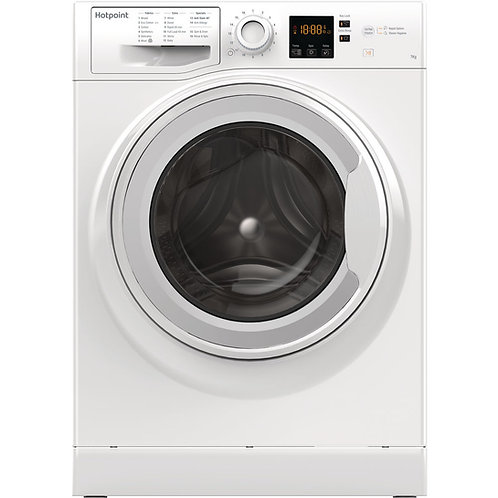 HOTPOINT 7 KGS WASHING MACHINE. 1400RPM. MODEL F158190