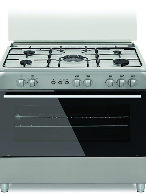 Carino 90 Cms Gas Cooker . White. Model number SMF9502MGW