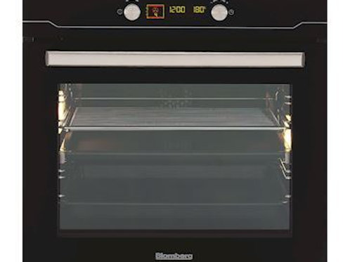 60 Cms  Built In Electric Oven Blomberg. Black. Model number BEO9566Z.