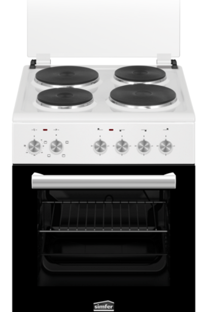 SIMFER 50 CMS ELECTRIC COOKER. WHITE . MODEL SMF4044 NERB