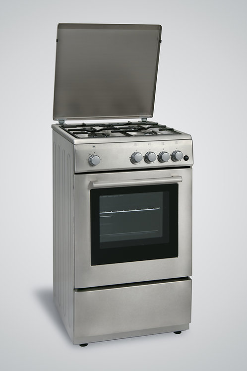 50 x 50 Gas Cooker Inox
