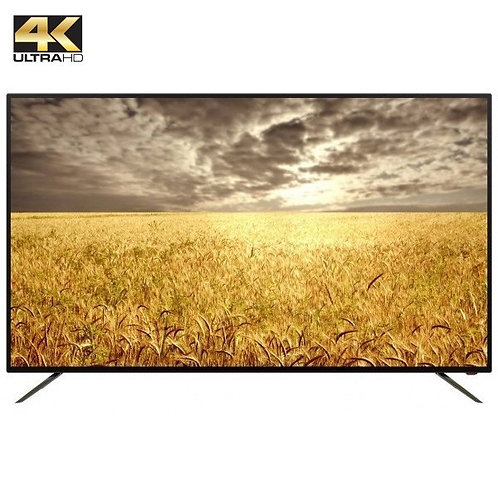 "55"" SMART TECH . 4K UHD + ANDROID SMART TV"