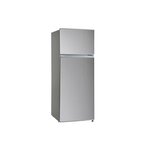MIDEA . FRIDGE FREEZER .  MODEL NUMBER MDRT294FGF. INOX
