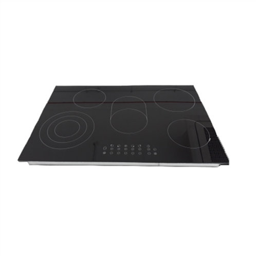 AVG YLCF8505 BUILT-IN VITROCERAMIC HOB BLACK 5*BURNER TOUCH-CONTROL. Mod8505