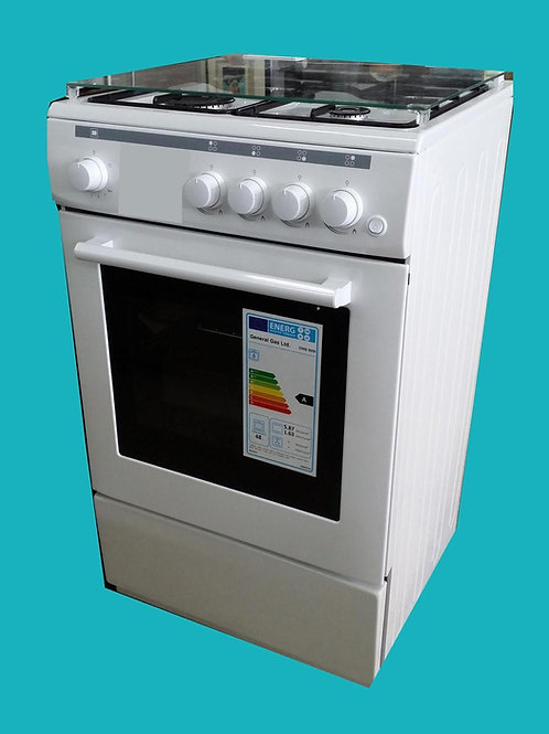 50 x 50 Gas Cooker White