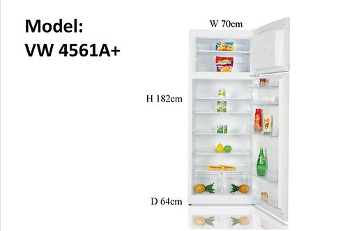 Fridge Freezer Black , White or Inox. Model VB4561A+