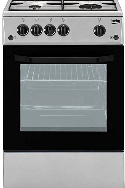 50 X 50 BEKO GAS COOKER INOX. MODEL CSG42011FS
