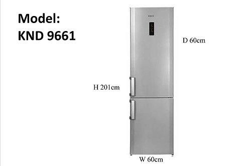 Blomberg Fridge Freezer Non Frost. Model number 9661. Inox