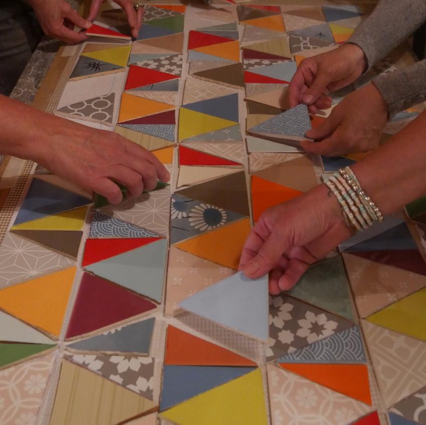 Nuit de la mosaïque Evasion Mosaique Viviane Wolff Haute Savoie