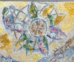 Mosaïque de Marc Chagall