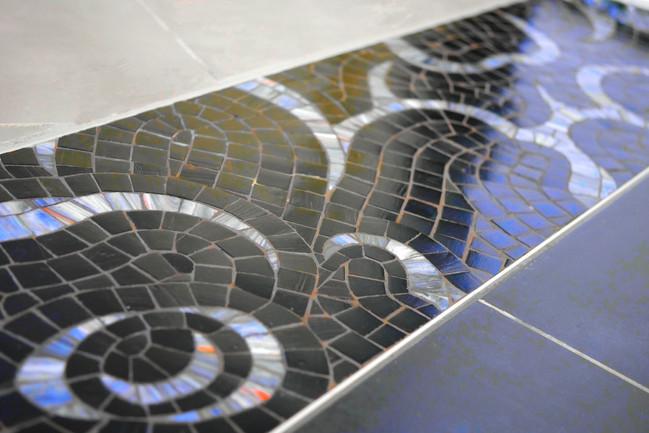 Mosaique de Sol - Pavement - Viviane WOLFF - Evasion Mosaique