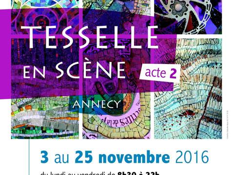 TESSELLE en SCÈNE arrive à Annecy !