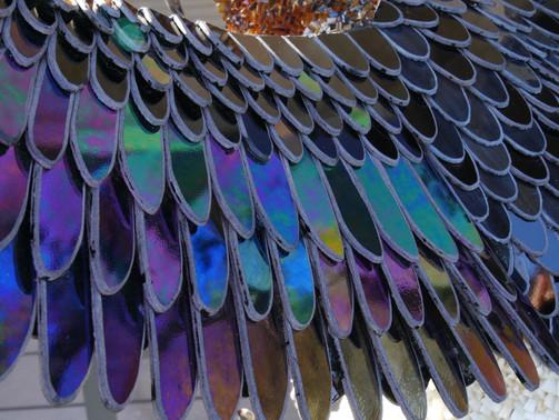 Le Gypaète - Détail des ailes