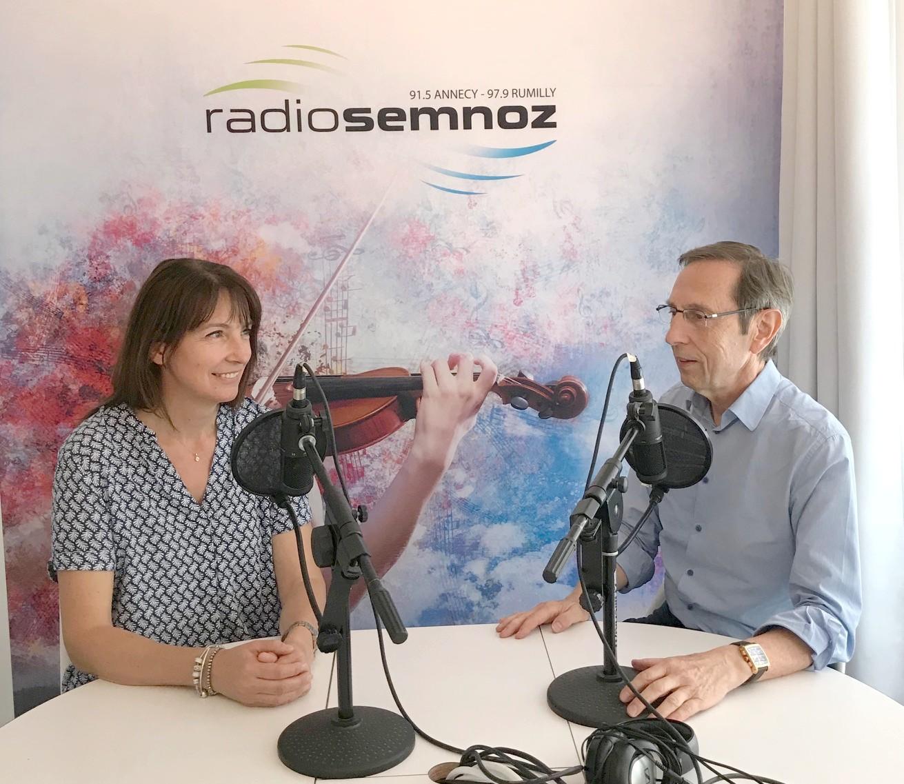 ITW sur Radio Semnoz de Viviane Wolf