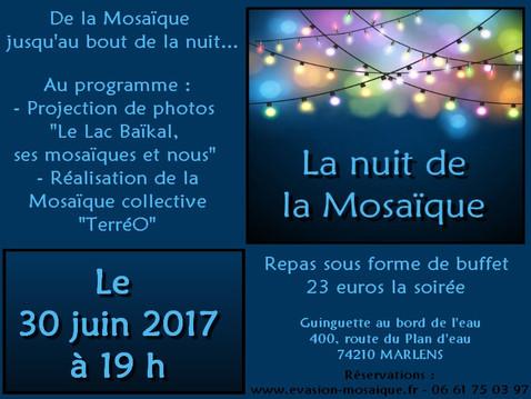 """INVITATION : """"La Nuit de la Mosaïque"""""""