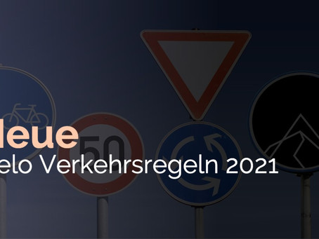 Achtung! Neue Velo-Verkehrsregeln ab 01.01.2021