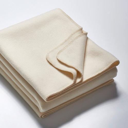 Die Decke 2m – wollweiß
