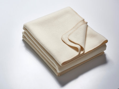 Die Decke 2,20m – wollweiß