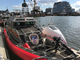 At the FDNY dock