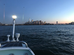 Sunrise at New York Harbor