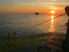 Sunset in Gulf