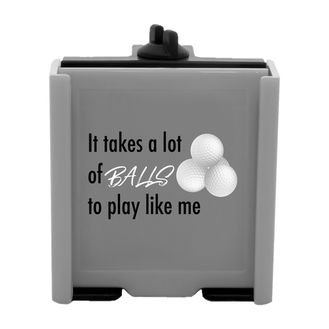 Phone Caddy Gray Balls Front 1400x1400.p