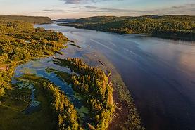 La rivière Saint-Maurice
