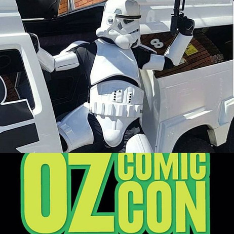 _ozcomiccon is this weekend! To celebrat