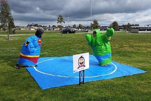 Sumo-Hero Soccer Setup & Referee