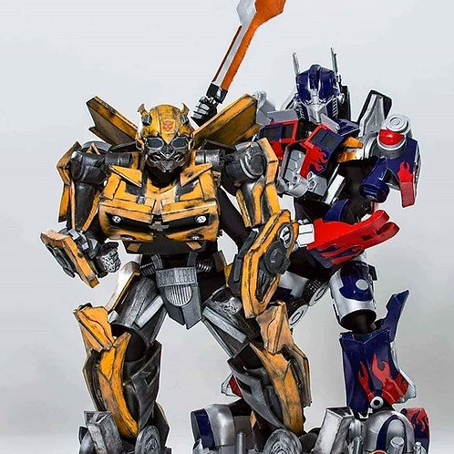 Optimus & Bumble Bot Show