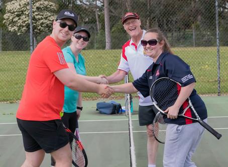 Senior tennis back at LVTA
