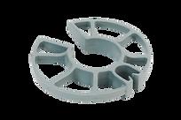 PT Posicionador de tubulação. Indicado para posicionar tubos e eletrodutos em paredes a serem concertadas.