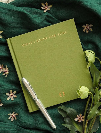 Write to Me What I know For Sure Journal Lifestyle View