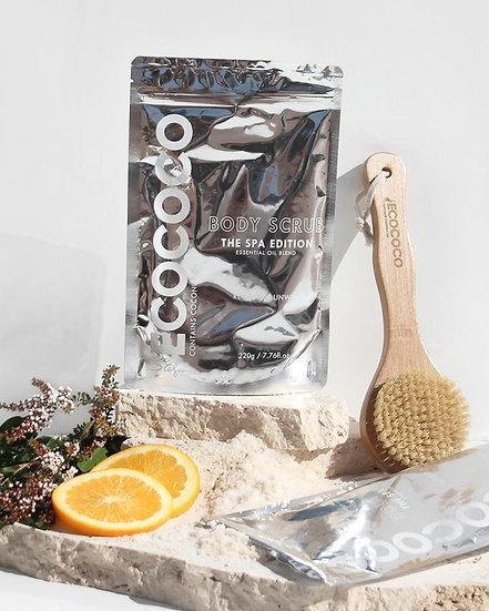 Ecococo Spa Edition Body Scrub Lifestyle View
