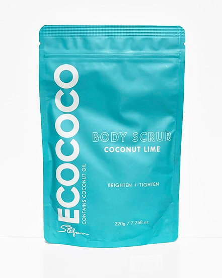 Ecococo Lime Body Scrub Front View