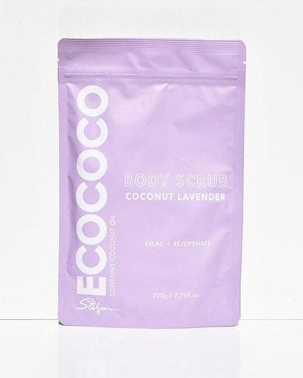 Lavender Body Scrub Front View