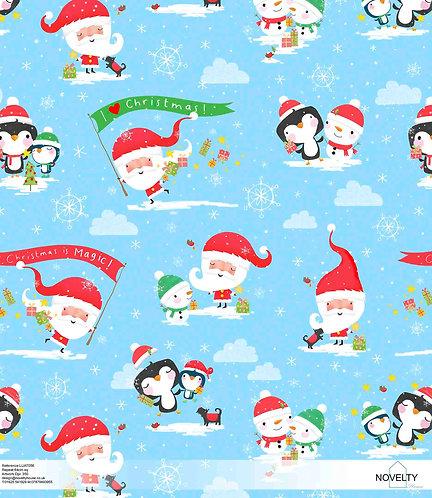 LUAT056 I love Santa !