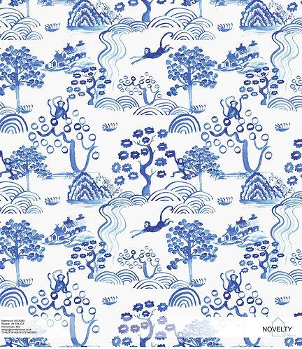 MICK080 Blue Monkey China