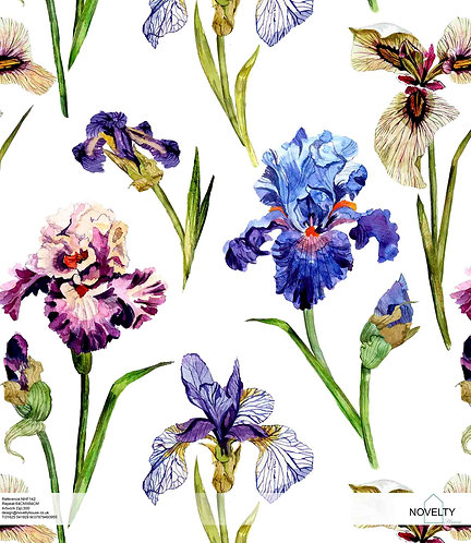 NHF142 Botanical Iris