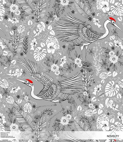 LUAT042 Red Crane Jungle