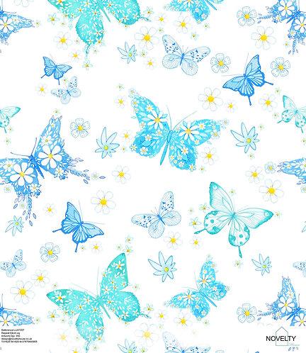 LUAT057 Floral Butterflies