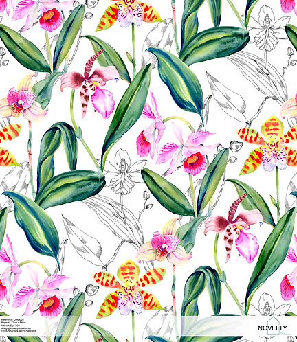 DIAB028 Jungle Flowers
