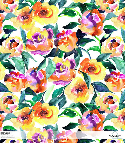 MICK109 Bright Summery flowers