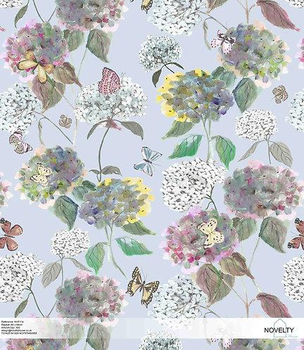 NHF114 Hydrangea & Butterflies