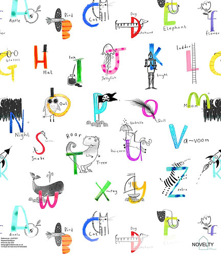 LUAT001 My Alphabet